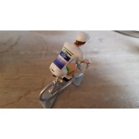 Fortuneo Oscaro 2017 - petit cycliste miniature en metal
