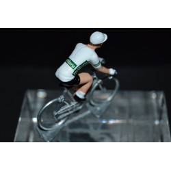 White Jersey Vuelta - die cats cycling figurine