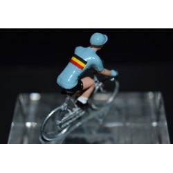 Equipe de Belgique - petit cycliste en métal