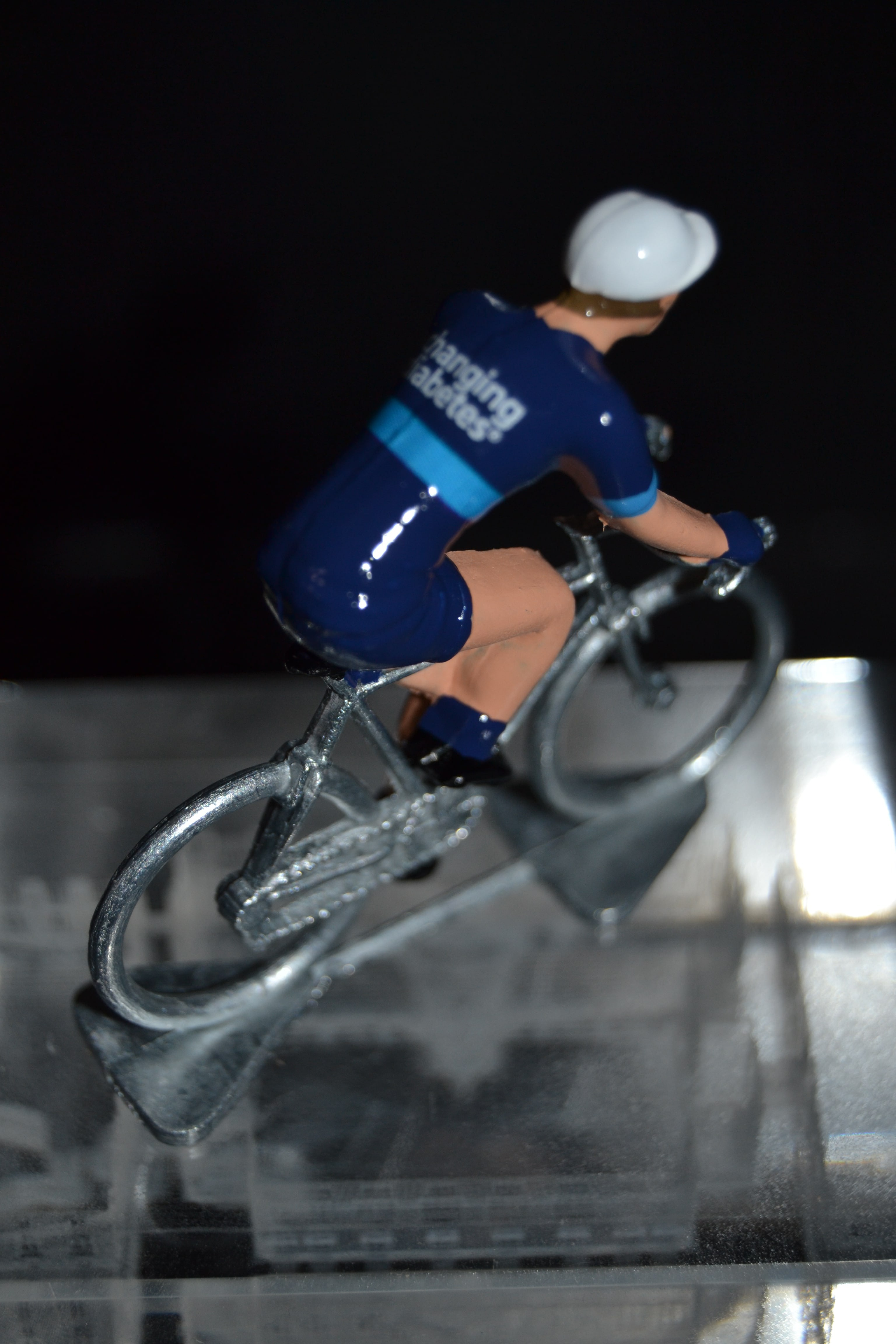 Cycling figure Petit cycliste Figurine Novo Nordisk 2018
