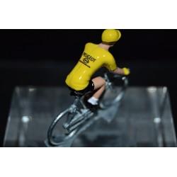Thevenet Jaune  - cyclist figurine