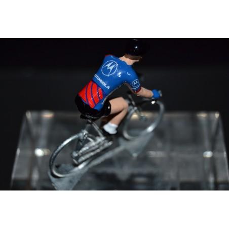 Motorola - cyclist figurine