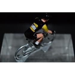 Lotto Jumbo special edition Tour de France 2018 - petit cycliste en acier