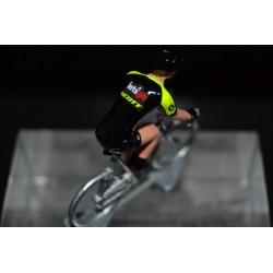 Mitchelton Scott special edition Tour de France 2018 - petit cycliste en acier