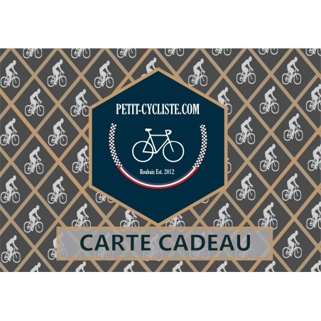 E-gift card, 1 cyclist (shipment fees included)