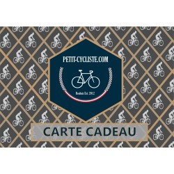 E-gift card, 3 cyclists (shipment fees included)