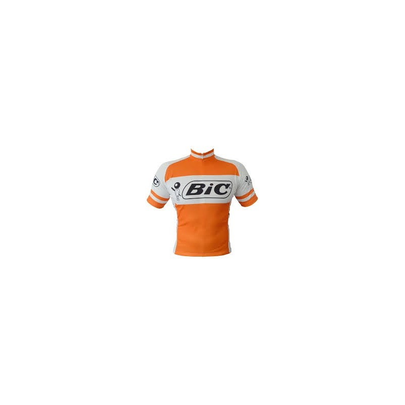 Bic - Lot de 2 petits cyclistes en metal