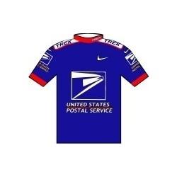 US Postal - petit cycliste en metal