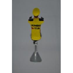 Jumbo Visma 2020 Season figurine petit cycliste