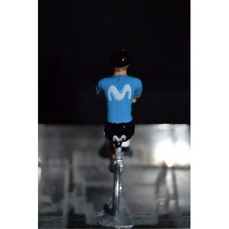 Movistar 2020 Season figurine petit cycliste