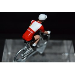 Boule d'or figurine petit cycliste