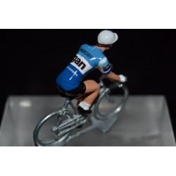 Gan Mercier Hutchinson 1974 figurine petit cycliste