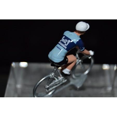Jollj Ceramica figurine petit cycliste