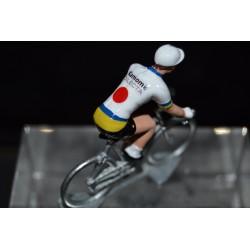 Kamome Dilecta figurine petit cycliste