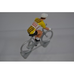 Huesco chocolates figurine petit cycliste