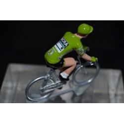 """Peter Sagan """"maillot vert 2019"""" Bora figurine petit cycliste"""