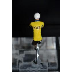 Kas - petit cycliste en metal