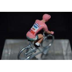 Pantani Giro Rose figurine petit cycliste