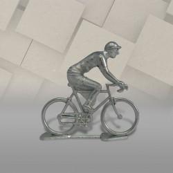 Cycliste rouleur non peint