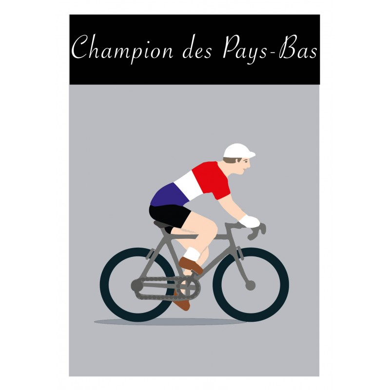 Poster Champion Pays Bas