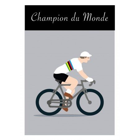 Poster Champion du Monde