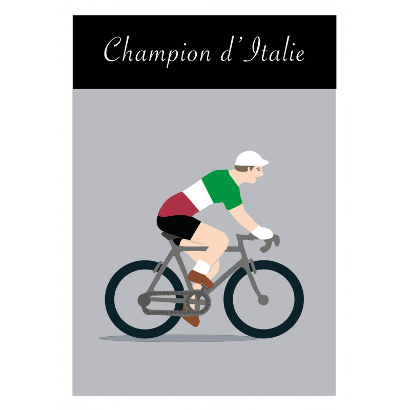 Poster Champion Italie