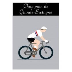 Poster Champion Grande-Bretagne