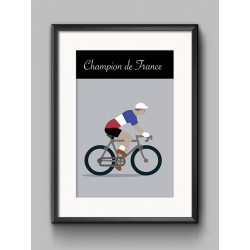 Poster Champion France