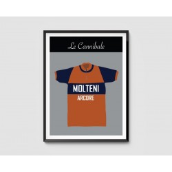 Poster Maillot Collector Molteni