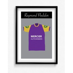 Poster Maillot Collector Raymond Poulidor