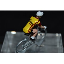 Selle Royal contour 1977  figurine petit cycliste