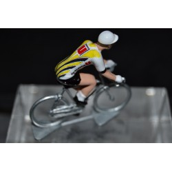 Systeme U 1989  figurine petit cycliste