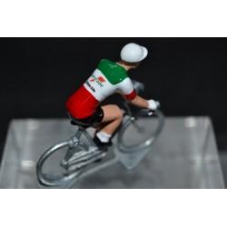 Gianni Bugno champion italie Gatorade Chateau d'ax figurine petit cycliste