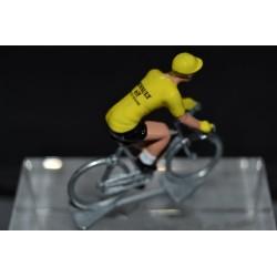 Bernard Hinault jaune Renault figurine petit cycliste