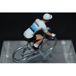 Elia Viviani Champion Europe cofidis figurine petit cycliste