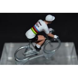 Mads Pedersen champion monde Trek Segafredo 2020 figurine petit cycliste