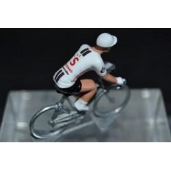 Sunweb 2020 blanc figurine petit cycliste