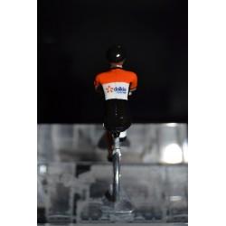 Roubaix Lille Metropole - Petit cycliste en zamak