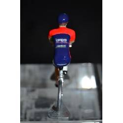 Lampre Merida - die cast cyclist figure