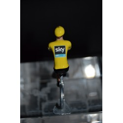 "Chris Froome ""yellow jersey 2015"" sky - die cast hand painted cyclist figure"