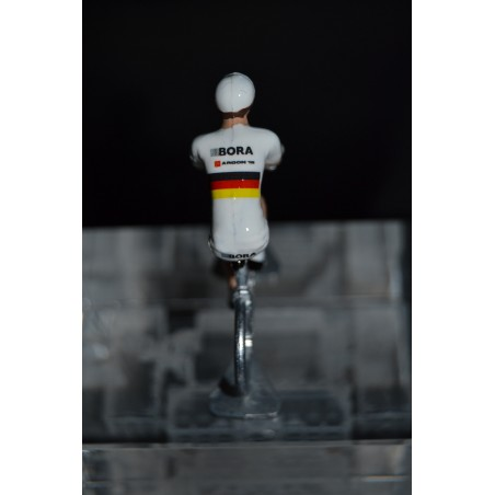 "Emanuel Buchmann ""German Champion 2015"" Bora Argon - die cast hand painted cyclist figure"