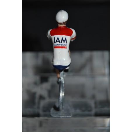 IAM - Metal cyclist figure