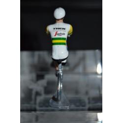 "Jack Bobridge ""Champion Australie"" Trek Segafredo - Petit cycliste en métal"