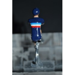 French Team - metal cyclist figure