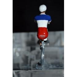 Champion de France 2016/2017 Arthur Vichot - petit cycliste miniature en acier