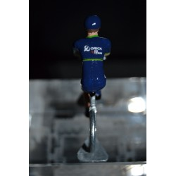 Orica Bike Exchange - die cast metal cycling figurine