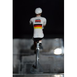 German Champion 2016/2017 Andre Greipel -- die cast metal cycling figurine