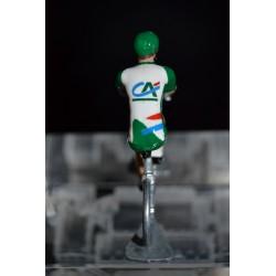Crédit Agricole - die cast cyclist figurine
