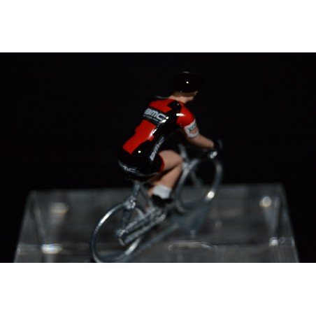 BMC Racing 2017 - petit cycliste miniature en metal