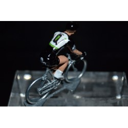 Dimension Data 2017 - petit cycliste miniature en metal